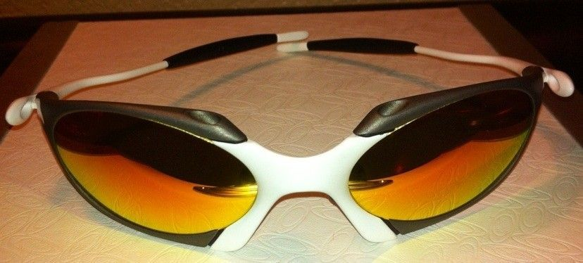 Oakley R1 Custom X-metal And Matte White (one Of A Kind) - FBB7547E-56CB-47DC-A8FE-801FDD33C4E1.jpg