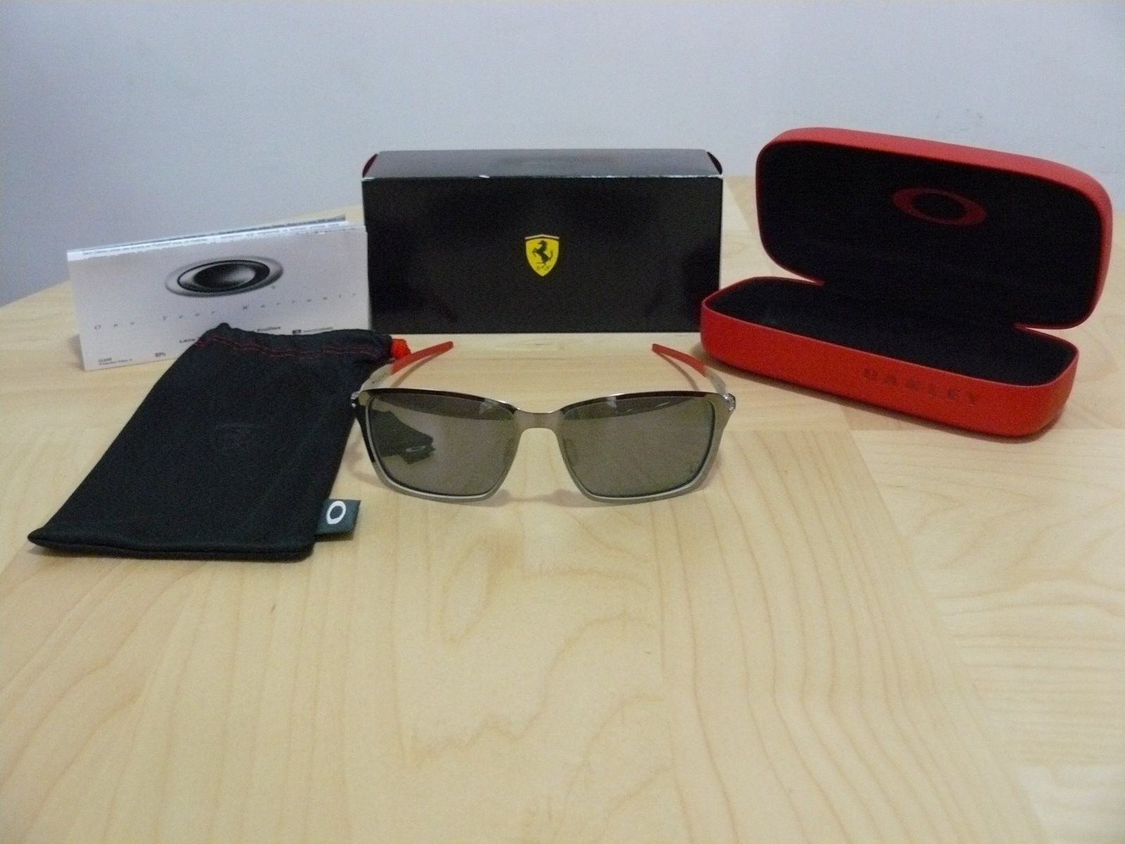 New Oakley Ferrari Tincan Sunglasses - Ferrari Tincan.JPG