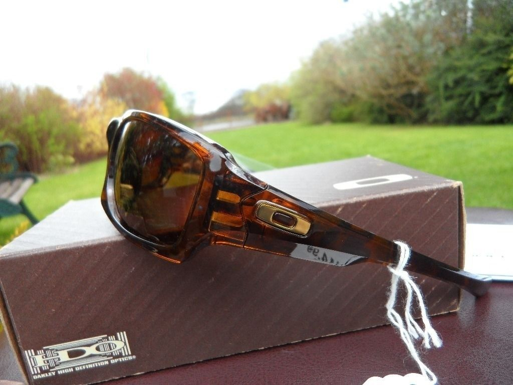BNIB Fives Squared Brown with Polarized Bronze lenses U.K based will post anywhere - fivesoffgumside.JPG