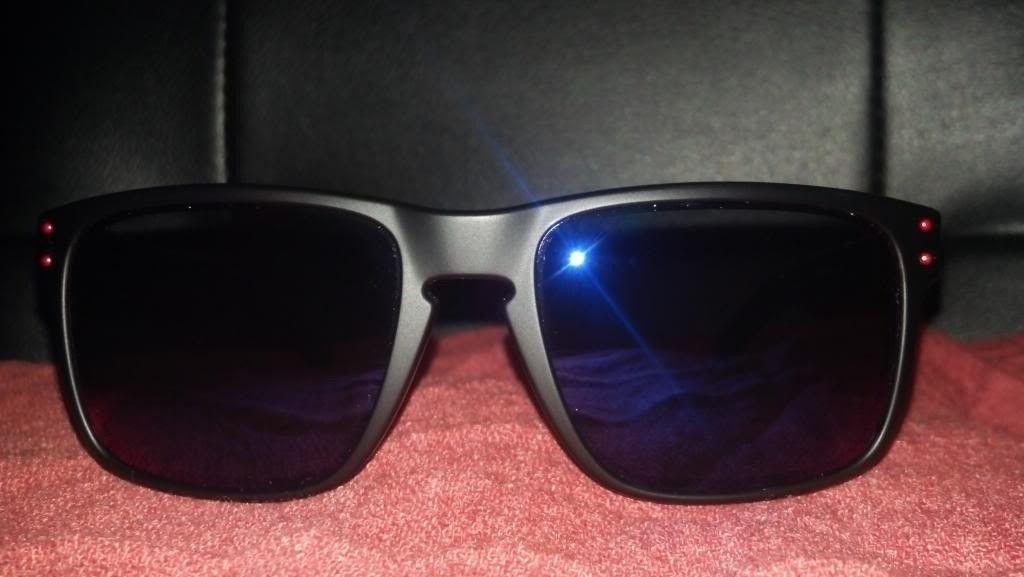 Oakley Holbrook Matte Black   Positive Red Iridium LNIB -  forsale1 zps8fac6f3a.jpg f8cf40997c