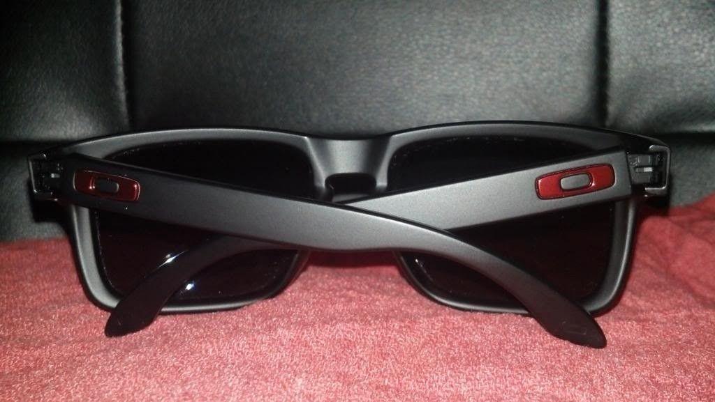 Oakley Holbrook Matte Black /  Positive Red Iridium LNIB - forsale4_zpscb8f09b0.jpg