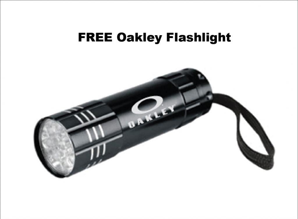 If Oakley Designed A Flashlight It Would ...... - free_oakley_flashlight1_zps220d21a4.jpg