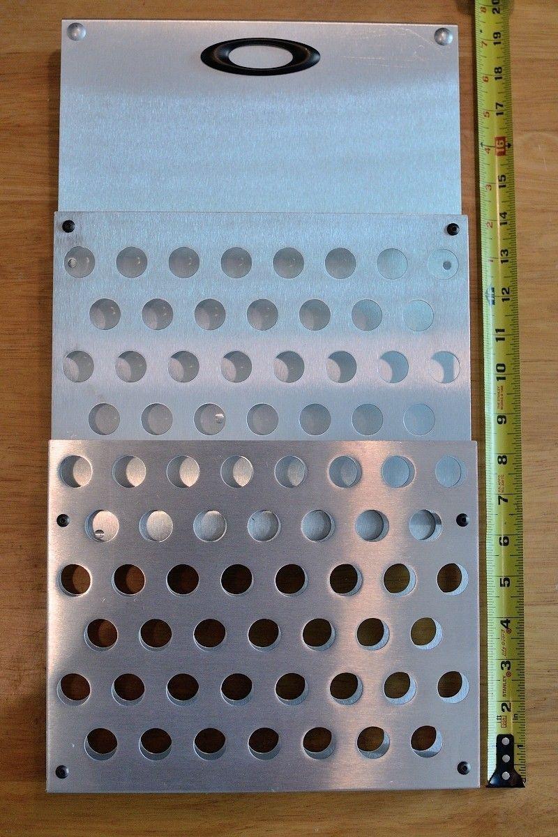 Brochure holder for Oakley display case - Front.JPG