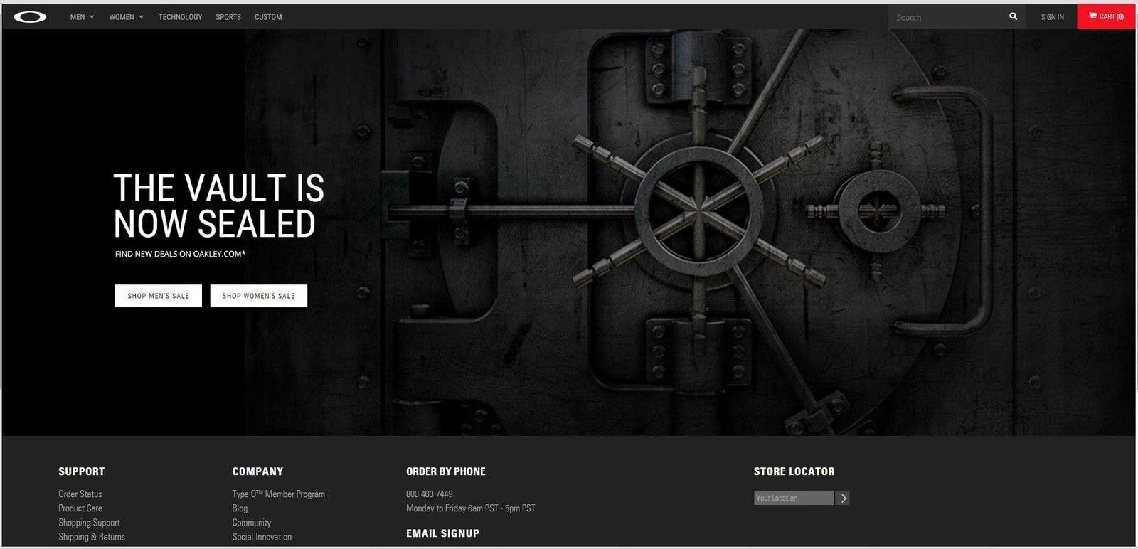 Oakley Vault closed for good? - GGWC0ed.jpg