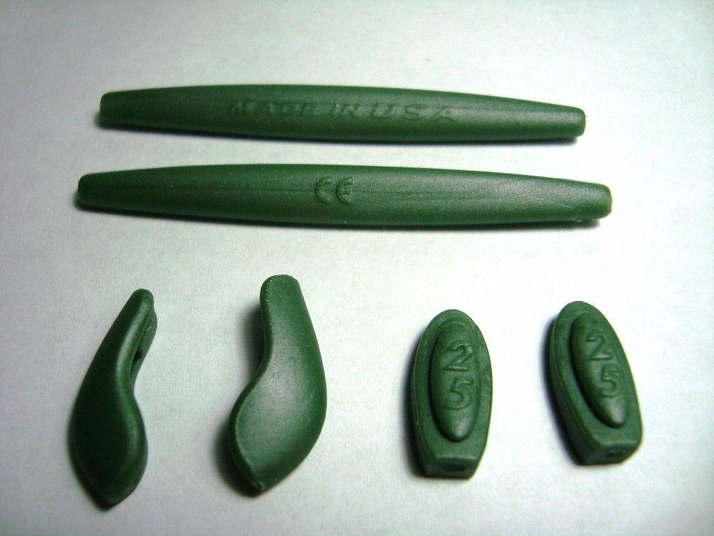 Oakley Green Ichiro Rubber Kit - GreenRubber.jpg