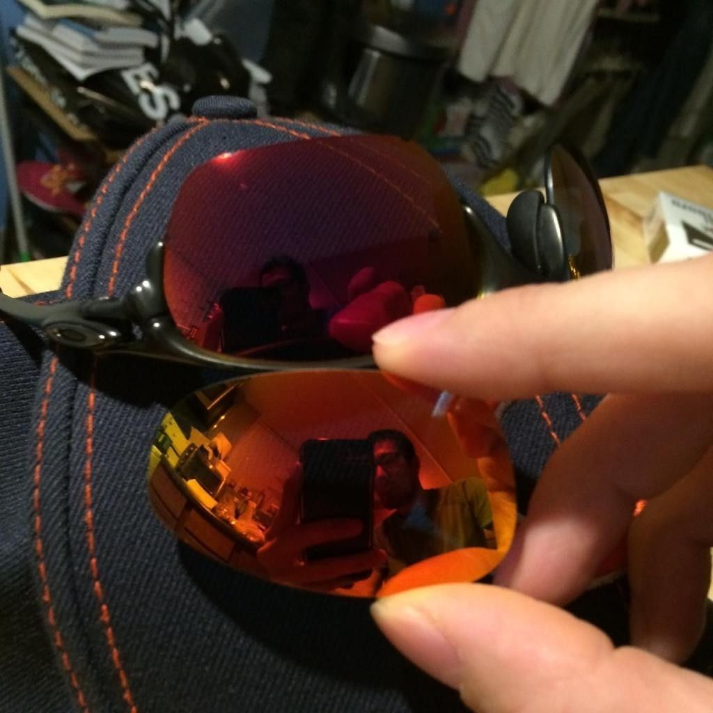 Trading Half X W/ Extra Parts + OEM Ruby (purple Hue) Lenses, Can Be Used As A Penny Donor Cut - halfxcomparison.jpg
