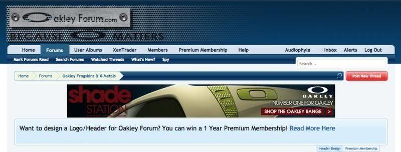 Oakley Forum Logo/Header Contest! - HeaderDemo_zps055f71a9.jpg