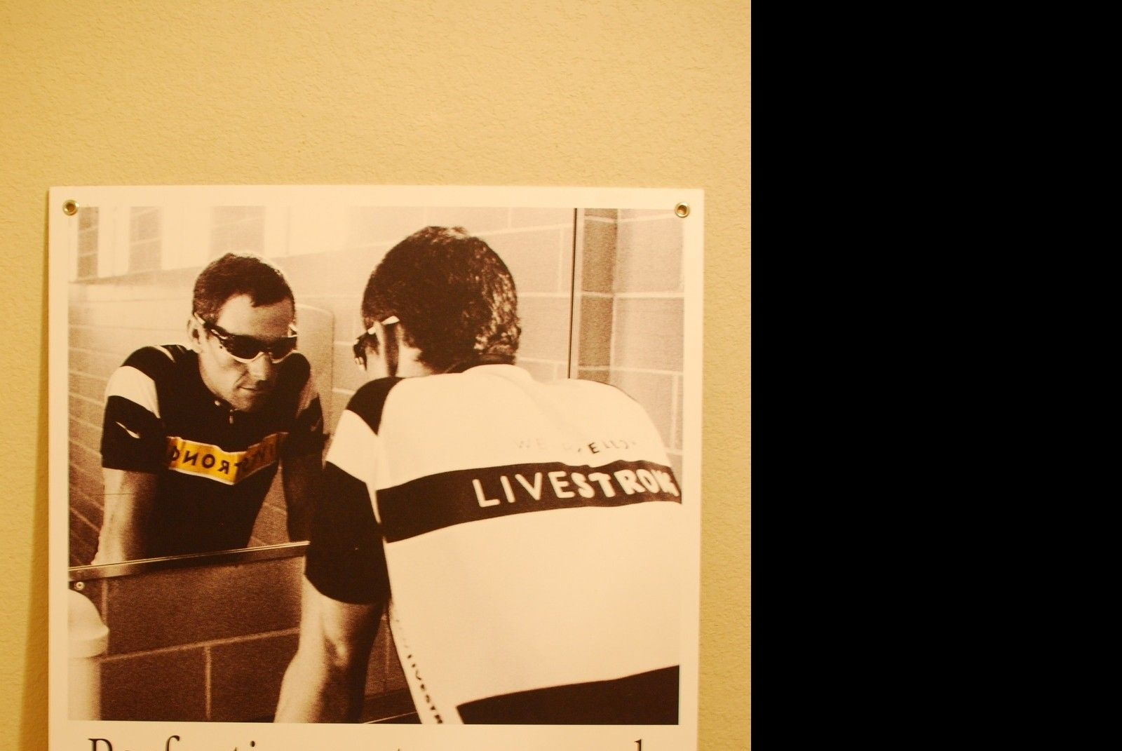 RARE Lance Armstrong Store Front Poster Displays - DFW Texas - ik84.jpg