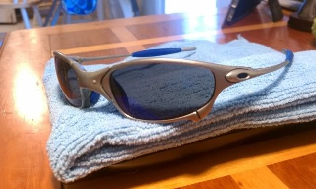 For Sale: Juliet Titanium With Ice And Blue Earsocks Make Offers - IMAG0181.jpg