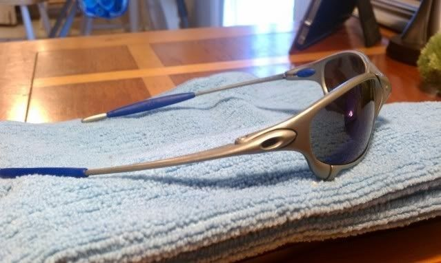 For Sale: Juliet Titanium With Ice And Blue Earsocks Make Offers - IMAG0183.jpg