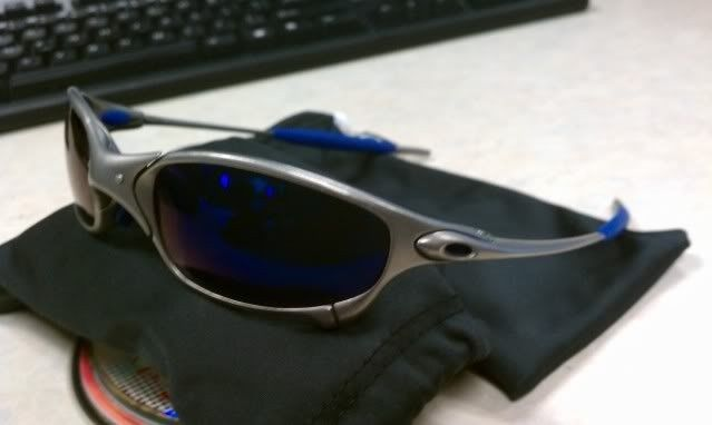 For Sale: Juliet Titanium With Ice And Blue Earsocks Make Offers - IMAG0310.jpg