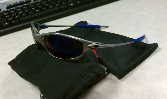 For Sale: Juliet Titanium With Ice And Blue Earsocks Make Offers - IMAG0312.jpg