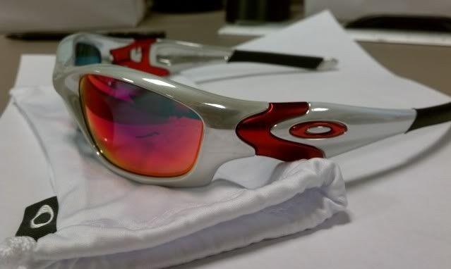 For Sale: Straight Jacket White Chrome Positive Red Iridium NEW - IMAG0473.jpg