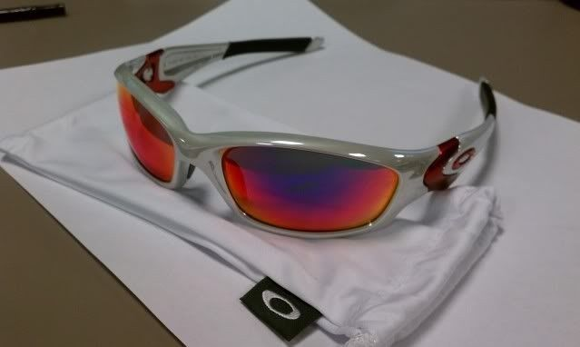 f8259021e6 For Sale  Straight Jacket White Chrome Positive Red Iridium NEW