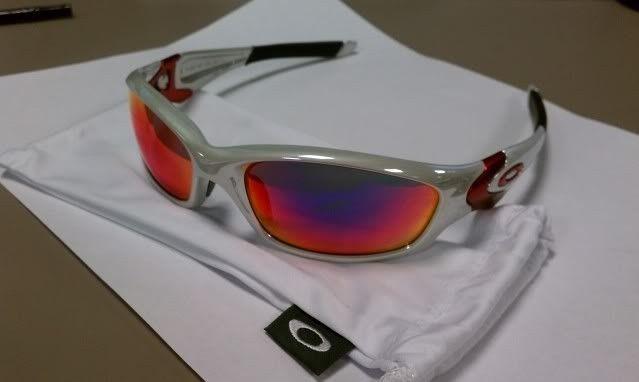 For Sale: Straight Jacket White Chrome Positive Red Iridium NEW - IMAG0475.jpg