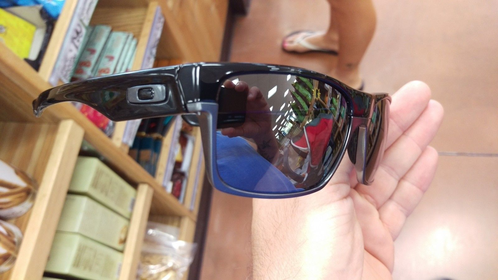 First pair of Oakley's - IMAG0542.jpg