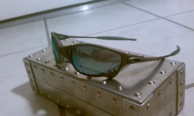 Juliet X Metal with Emerald and Green Rubber-It's Finally Here!!!!!! - IMAG0560.jpg