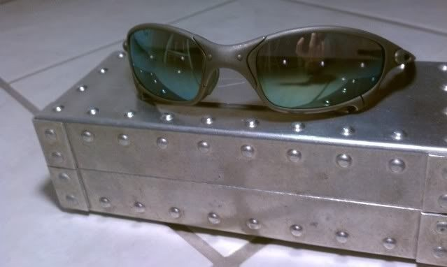Juliet X Metal with Emerald and Green Rubber-It's Finally Here!!!!!! - IMAG0562.jpg