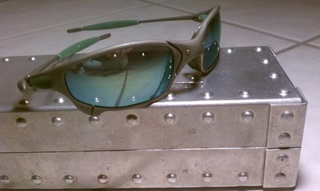 Juliet X Metal with Emerald and Green Rubber-It's Finally Here!!!!!! - IMAG0569.jpg
