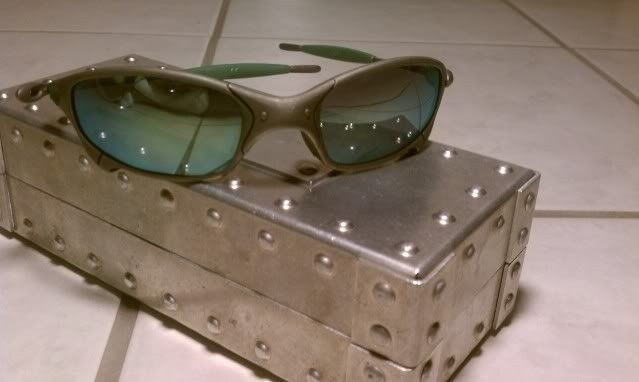 Juliet X Metal with Emerald and Green Rubber-It's Finally Here!!!!!! - IMAG0570.jpg