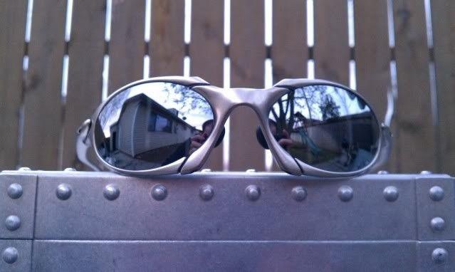 FS: Oakley Romeo 1 Exovista Liquid Metal 2 Lenses - IMAG0773.jpg