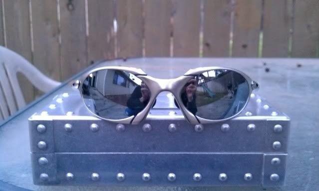 FS: Oakley Romeo 1 Exovista Liquid Metal 2 Lenses - IMAG0774.jpg