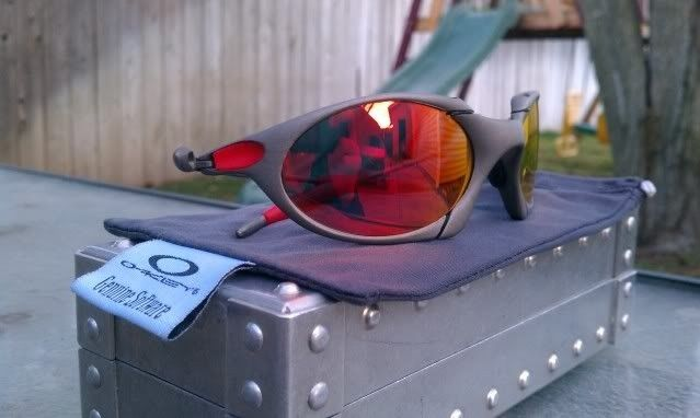 Offers? FS: Romeo 1 X Metal W/Custom Cut OEM Ruby And OEM Red Rubber - IMAG0897.jpg