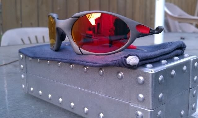 Offers? FS: Romeo 1 X Metal W/Custom Cut OEM Ruby And OEM Red Rubber - IMAG0898.jpg