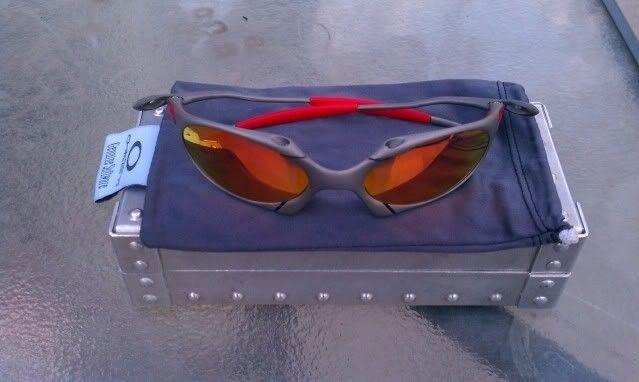 Offers? FS: Romeo 1 X Metal W/Custom Cut OEM Ruby And OEM Red Rubber - IMAG0899.jpg