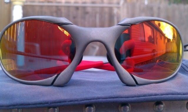 Offers? FS: Romeo 1 X Metal W/Custom Cut OEM Ruby And OEM Red Rubber - IMAG0902.jpg
