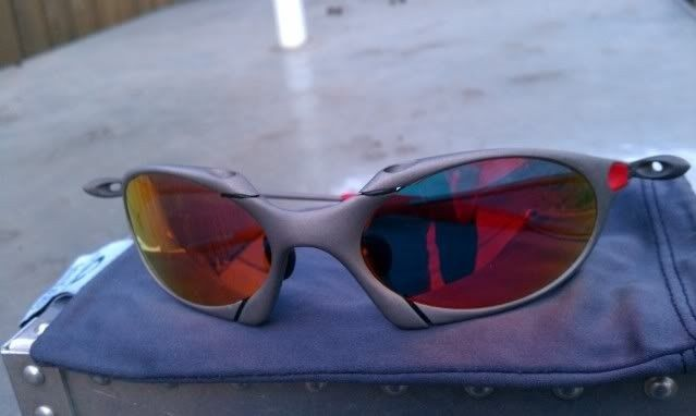 Offers? FS: Romeo 1 X Metal W/Custom Cut OEM Ruby And OEM Red Rubber - IMAG0903.jpg