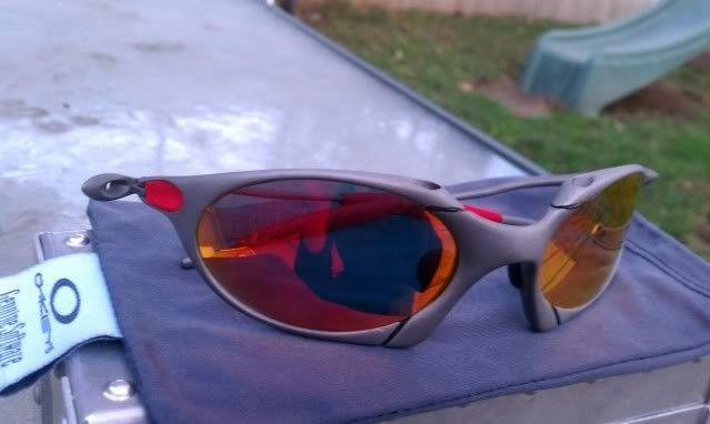 Offers? FS: Romeo 1 X Metal W/Custom Cut OEM Ruby And OEM Red Rubber - IMAG0904.jpg