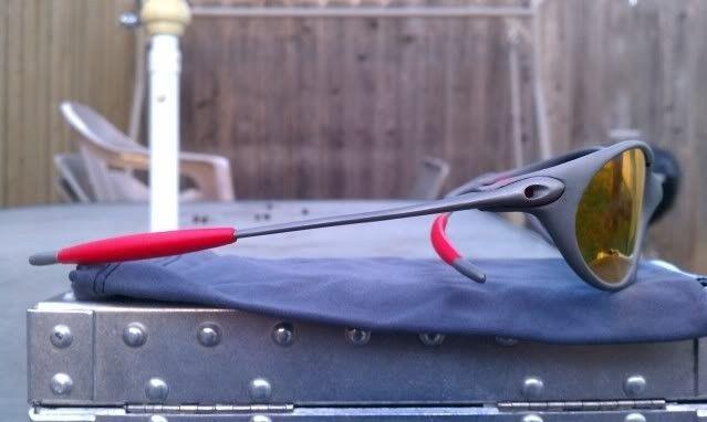 Offers? FS: Romeo 1 X Metal W/Custom Cut OEM Ruby And OEM Red Rubber - IMAG0906.jpg