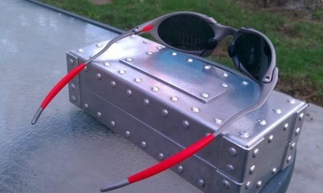 Offers? FS: Romeo 1 X Metal W/Custom Cut OEM Ruby And OEM Red Rubber - IMAG0907.jpg