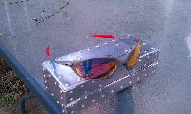 Offers? FS: Romeo 1 X Metal W/Custom Cut OEM Ruby And OEM Red Rubber - IMAG0908.jpg