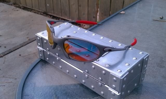 Offers? FS: Romeo 1 X Metal W/Custom Cut OEM Ruby And OEM Red Rubber - IMAG0909.jpg