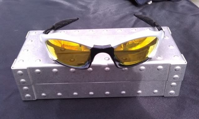 Oakley Splice FMJ 5.56/Polished Black With Fire COMPLETE, MINT - IMAG1122.jpg