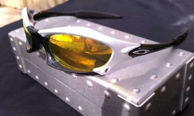 Oakley Splice FMJ 5.56/Polished Black With Fire COMPLETE, MINT - IMAG1123.jpg