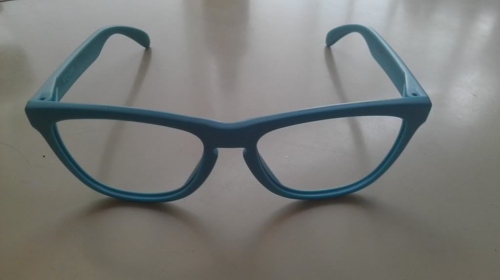 Limited FROGSKINS Matte Turquoise  (03-217)  Frame Only - IMAG1183_zpsca78aa87.jpg