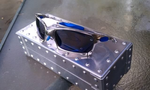 FS: X Squared Polished And Ice And OEM Blue Rubber-$355 - IMAG1252.jpg