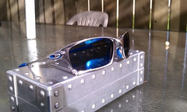 FS: X Squared Polished And Ice And OEM Blue Rubber-$355 - IMAG1259.jpg