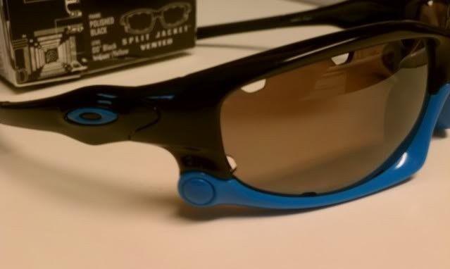 FS: Split Jacket Polished Black Sky Blue, OO Black Iridium Polarized $115 - IMAG1294.jpg