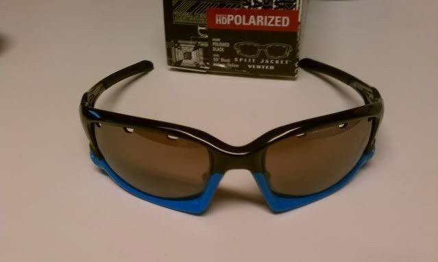 FS: Split Jacket Polished Black Sky Blue, OO Black Iridium Polarized $115 - IMAG1297.jpg