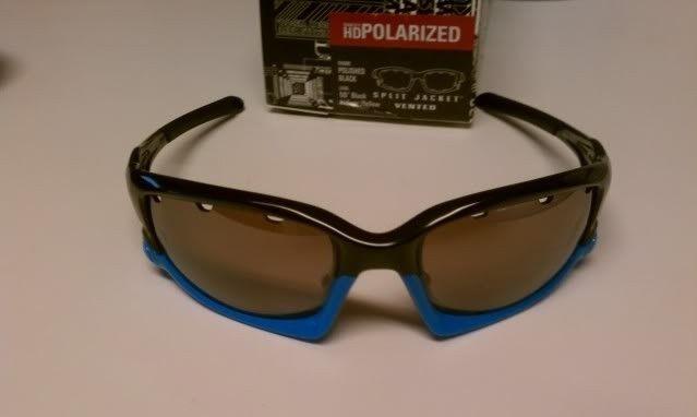 FS: Split Jacket Polished Black Sky Blue, OO Black Iridium Polarized $115 - IMAG1297.jpg