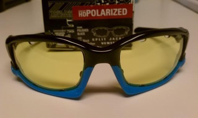 FS: Split Jacket Polished Black Sky Blue, OO Black Iridium Polarized $115 - IMAG1300.jpg