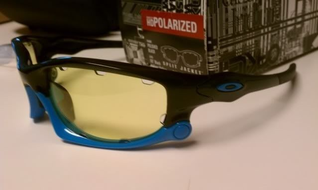 FS: Split Jacket Polished Black Sky Blue, OO Black Iridium Polarized $115 - IMAG1302.jpg