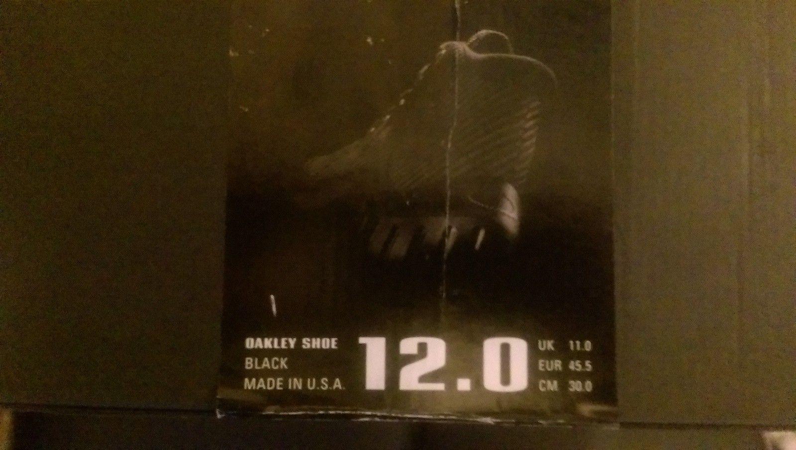 Oakley One Shoe Boot Black (US 12, UK 11) - IMAG1599.jpg