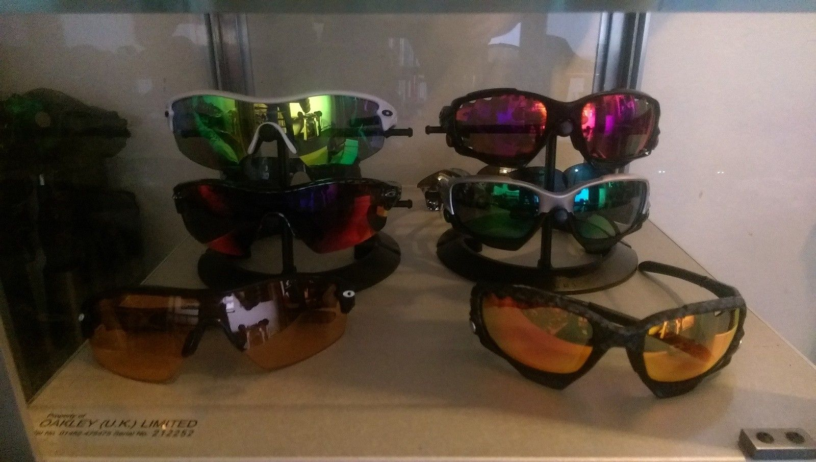 Red Tiger's Oakley Collection - IMAG1685.jpg