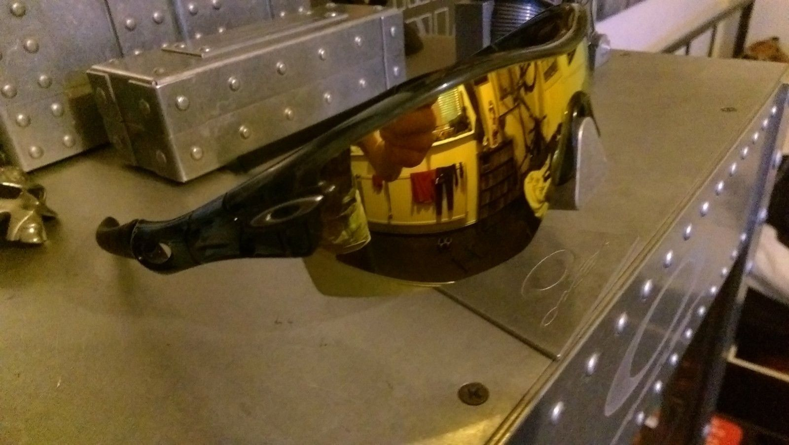 Radar Black  Crystal Frame with Fire Pitch Lens - IMAG2705.jpg