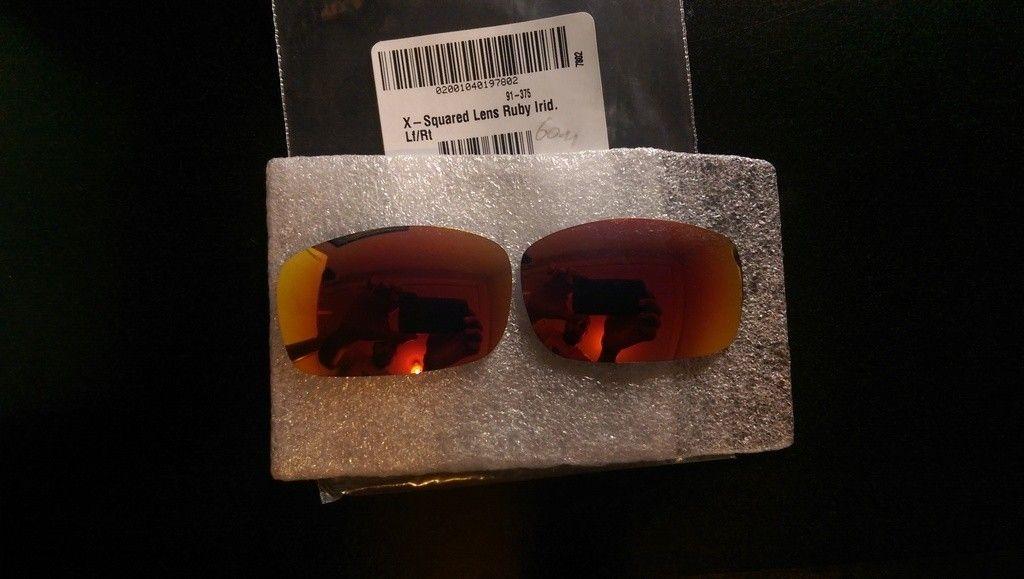 X-Squared Ruby iridium OEM lenses Brand New (price drop) - IMAG4136_zpsdftpddq6.jpg